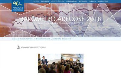 Resultados del Barómetro 2018 de ADECOSE
