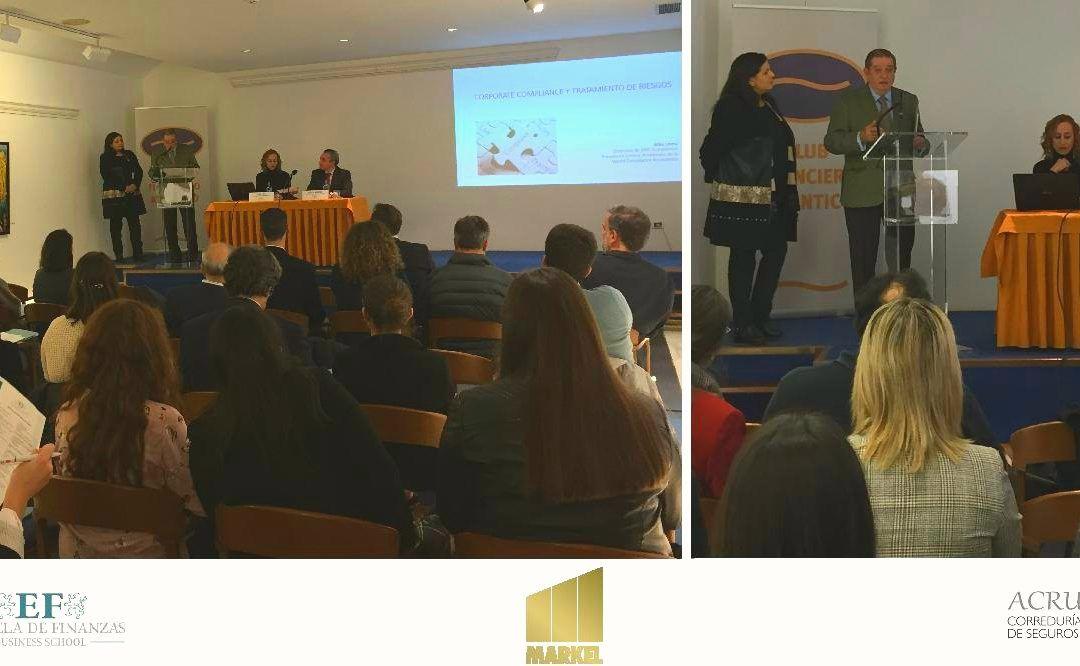Jornada de Corporate Compliance y Tratamiento del riesgo con Acrux Correduría de Seguros y Markel International España