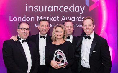 """Markel International ha sido nombrada Compañía del Año por """"Insurance Day London Market Awards"""""""