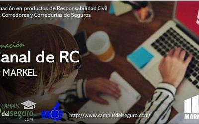 Markel España crea un Canal de Formación en RC para corredores dentro de Campus del Seguro.