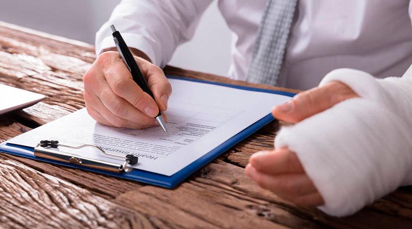 Solicitar indemnización en caso de accidente laboral